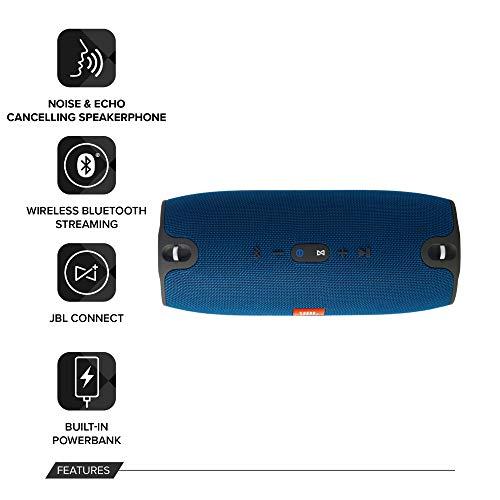 JBL Xtreme Sistema Audio Portatile, Splashproof, Bluetooth, Wireless, Rosso