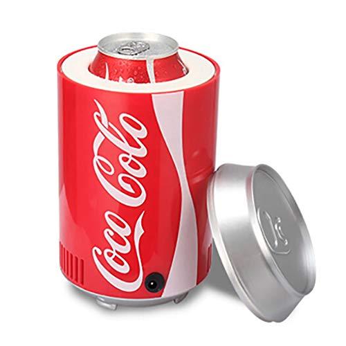 Mini USB draagbare koelkast Bevanger Birra voor koelere dranken, koeler en hete diepvrieskast PC Office Car koelkast klein draagbaar voor reizen