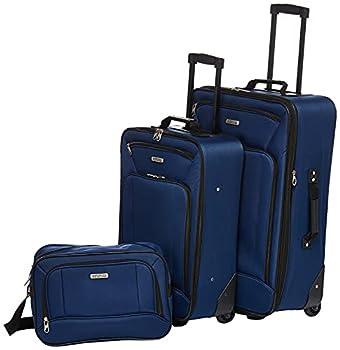 American Tourister Fieldbrook XLT Softside Upright Luggage Navy 3-Piece Set  BB/21/25