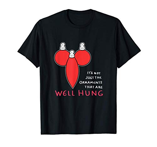 Así Adornos de Navidad decorador Hung Camiseta