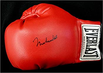 Muhammad Ali Hand Signed Autographed Red Everlast Boxing Glove OA 8414953 - Autographed Boxing Gloves