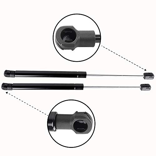 Front Hood Lift Support Gas Struts Fit 2011-2014 H-yundai Sonata TUPARTS Automotive Replacement Shock Lift Supports