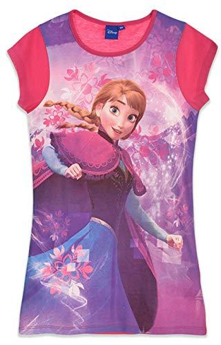 Disney Die Eiskönigin Nachthemd, Fuchsia, Gr. 104-128 Größe 6 Jahre