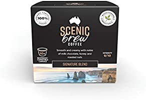 Scenic Brew, 6 packs of 10 pods (60 total), Signature Blend