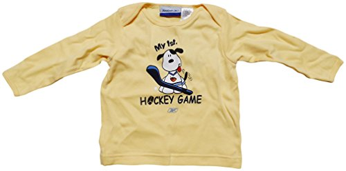 Atlanta Thrashers Yellow Infant/Baby My First Hockey Game Long Sleeve T-Shirt 24 Months