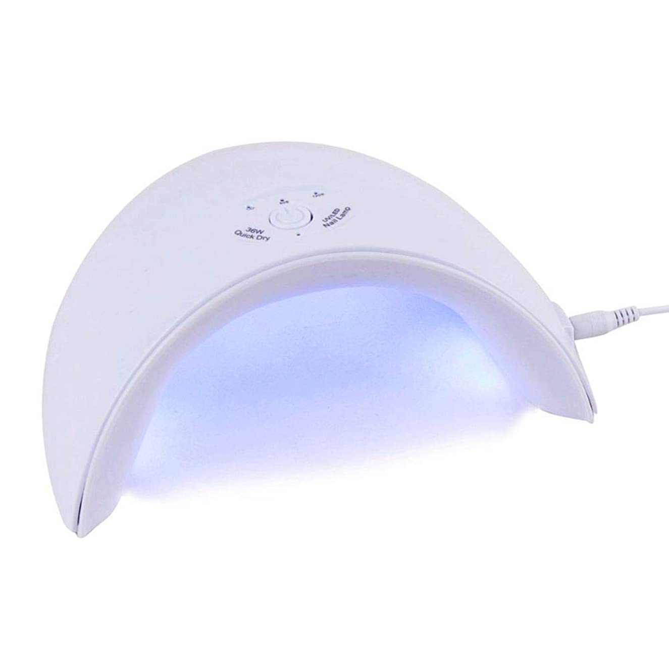 疑い者続編ミスネイルドライヤー新しい36W UV LEDランプすべてのタイプのネイルドライヤージェル12個のLEDネイルマシン用UVランプ硬化60秒/ 120秒タイマーUSBコネクタ、写真の色
