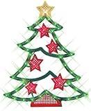 Impact Innovations Christmas Lighted Window Decoration, Tree