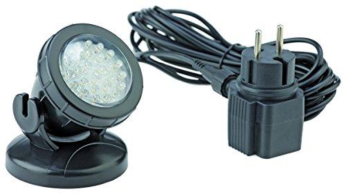 Pontec 57519 Unterwasserbeleuchtung PondoStar LED 1-er set | LED-Spotset | Beleuchtung | Unterwasserscheinwerfer | Teichbeleuchtung