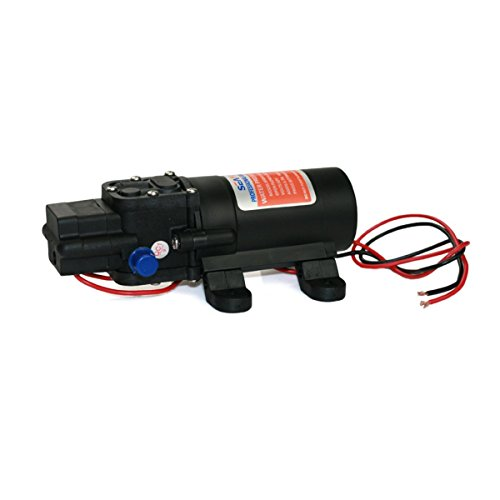 Raomdityat Seaflo Water Pressure Pump 12V DC 1.2 GPM 35 PSI 21 Series Diaphragm for Caravan RV...