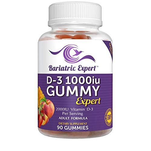 Bariatric D3, Gummy 90 Chews.