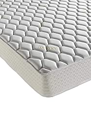 The luxurious and extra- thick Aloe Vera Memory Deluxe mattress is infused with Aloe Vera extract which has a natural ability to boost the body's defence systems. It also hydrates, soothes and rejuvenates the skin promoting an all round healthier nig...