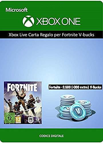 Xbox Live Carta Regalo per Fortnite 2800 V-Bucks | Xbox One - Codice download