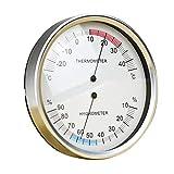 H HILABEE Thermo Hygromètre de Haute Précision Testeur de Température Humidité Hygromètre Thermomètre Analogique