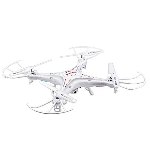 SYMA X5C-1 Explorers Drone con Telecamera HD 2.0MP Quadricottero RC Senza Testa Flip 3D 2.4G 4CH 6 Axis Gyro - RTF