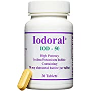 Optimox - Iodoral 50mg, High Potency Iodine/Potassium Iodide Thyroid Support Supplement