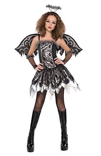 Disfraz ángel negro adolescente Halloween - De 14 a 15...