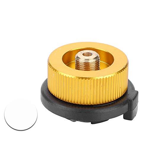 Yosoo Health Gear Conector de Estufa de Camping Adaptador de Botella de Gas para Bote de butano para atornillar el Cartucho de Gas