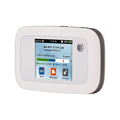 Velocity 4G LTE Mobile WiFi Hotspot with AT&T Unlimited 4G LTE Data 1 Month Services Included