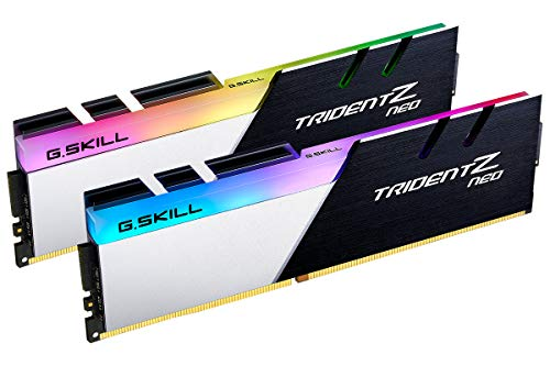 G.Skill Trident Z Neo (For AMD Ryzen) Series 16GB (2 x 8GB) 288-Pin RGB DDR4 3600MHz PC4-28800 Desktop Memory Model F4-3600C16D-16GTZNC