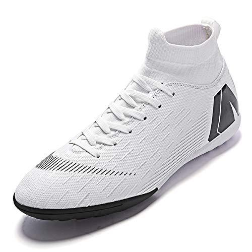 Zapatillas Botas de Fútbol Hombre Profesionales Botas de Fútbol Aire Libre Atletismo Zapatos de Entrenamiento Zapatos de fútbol