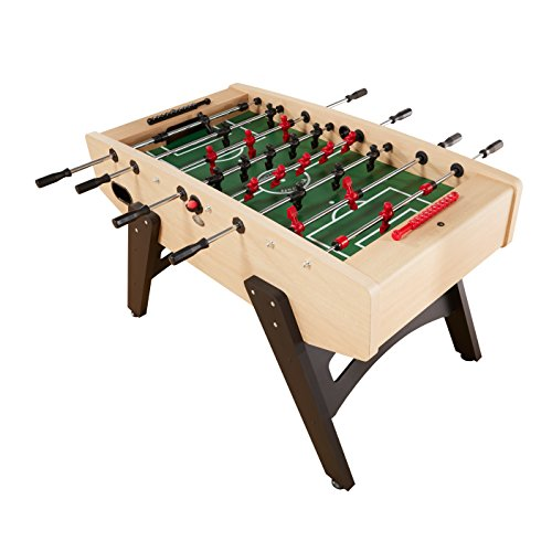 Playcraft Milan - European Foosball Table, Light Maple