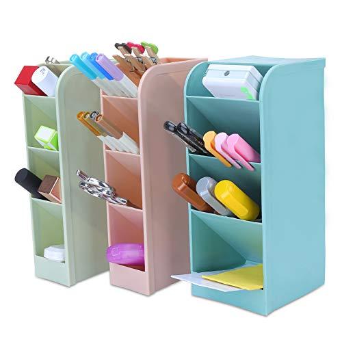 Sinwind Portalápices, Portalápices Infantil, Organizador de Escritorio para Lápices, Accesorios Escritorio, Caja de Almacenamiento de Oficina, Portalápices Niños (color3)