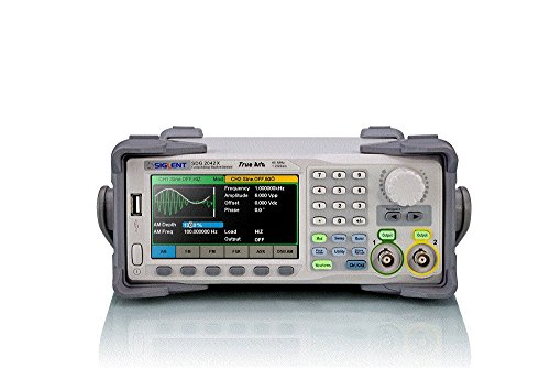 top rated Siglent Technologies SDG2042X Functional generator for all waveforms, 40 MHz, gray 2020