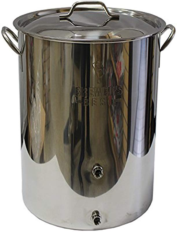 Brewer S Beast 8 Gallon Stainless Steel Homebrewing Kettle With Two Ports