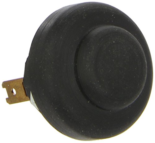 HELLA 6JF 001 571-041 Zünd-/Startschalter - Druckbetätigung - Anschlussanzahl: 2 - geschraubt - Bohrung-Ø: 22,3mm - Blechdicke: 5mm - Schließer