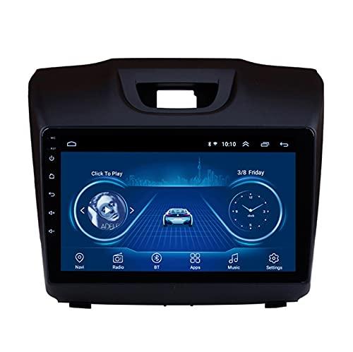 Android 10.0 8 Core Car stereo radio de navegación por satélite FM AM Autoradio 2.5D Pantalla táctil para Chevrolet DMAX S10 2015-2018 Navegador GPS Bluetooth WIFI GPS USB SD pla(Color:WIFI 1G+16G)