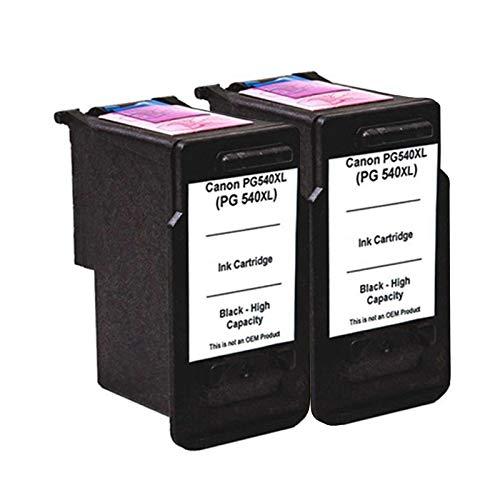 Cartuchos de tinta compatibles compatibles para impresora Canon MG2100 MG2140 MG2150 2 negro