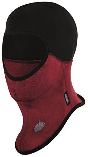 VIKING Sturmhaube Skimaske Kälteschutz Gesichtsschutz mit WINDLOCKER Membran Balaclava 3134, 34 schwarz/rot, 56