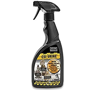 Csi urine Spray Nettoyant pour Chien