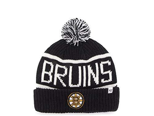 47Brand Boston Bruins Calgary Cuff Mütze - NHL Eishockey