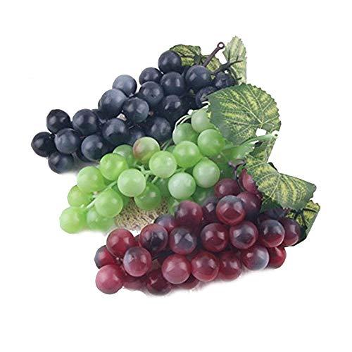 Snner 3Pcs Simulation Künstliche Kunststoff Obst Für Home Party Decor