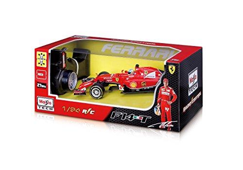 RC Auto kaufen Rennwagen Bild 4: Maisto 581186 - Ferngesteuertes Modellauto 1:24 Ferrari F14T mit Fernando Alonso*