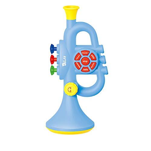 Seciie Trompete Kinder, Trompete Spielzeug Kinder Musikinstrumente mit Musik, für Jungen und Mädchen