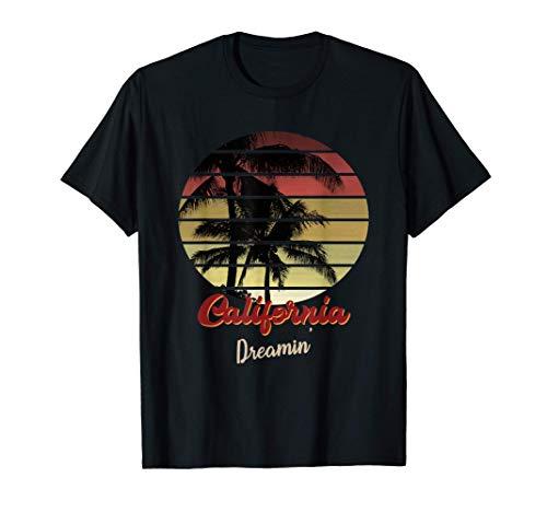 Vintage Santa Cruz Retro Surfer Beach Santa Cruz California Maglietta
