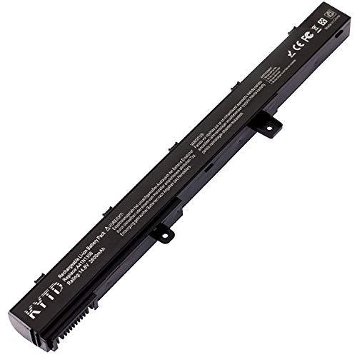 KYTD Standard Serie A41N1308 A31N1319 Batería para ASUS X551 X551C X551CA X551M X551MA X551MAV R512 R512C R512CA F551 F551C F551M D550 D550C D550CA Ordenador (4 Celdas 2600mAh 14.8V)