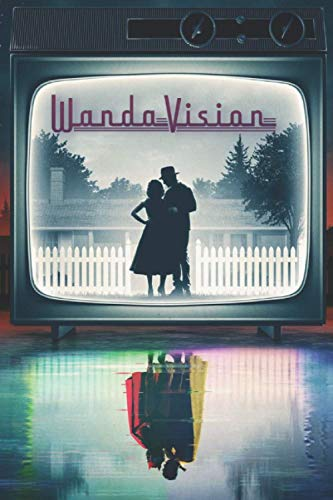 WandaVision - Now In Color: Lined Notebook, Journal, Diary |...