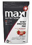 MaxiNutrition Whey Protein Pro Erdbeere – Eiweißpulver für den Muskelaufbau nach dem Training – 1 x 390 g Packung Protein Shake mit Erdbeer Geschmack