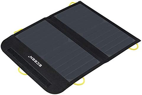 ECEEN Solar Charger Foldable Solar Panel Charge for iPhones Smartphones Tablets GPS Units Speakers product image