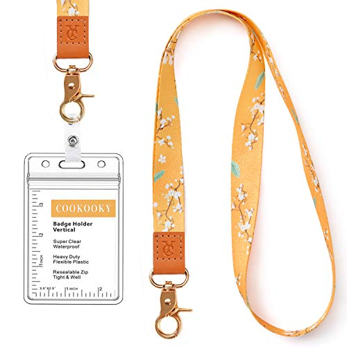 Lanyard with id Holder Cute Lanyards for Women Lanyard for Keys ID Badge...