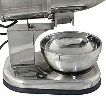 All Stainless Steel Ice Shaver Maker Snow Cone Machine Sno Shaved Icee Electric