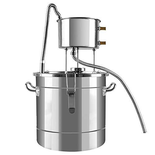 YZXZM El Alcohol Destilador, 12 litros Pequeño Brewer Shochu Vapor Vendimia Equipo De Elaboración De La Cerveza del Hogar Destilador del Hogar Licor Puro Rocío Máquina