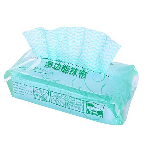 TRYSHA Umweltschutz Einweg Vlies Tuch Einweg-Reinigungstuch 80 Pump Küche Multi-Funktions-Pumping Geschirrspül-Tuch Ölfreie Reinigungstuches (zufällige Farbe) Seifenschalen