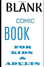 Comic Book For Kids And Adults 2020: Blank Comic Book