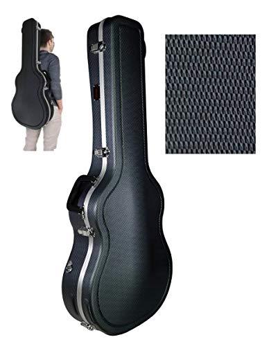 Estuche ABS para Guitarra Clásica con Forma, marca Cibeles (Gris Azulado)