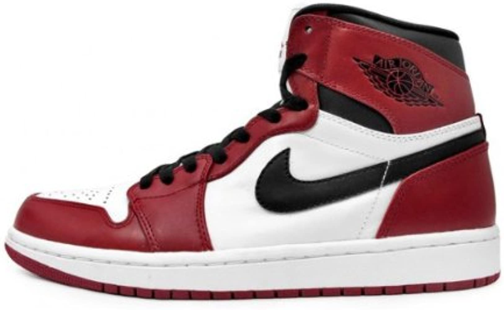 Amazon.com: Air Jordan 1 Retro (OG), color blanco/varsity – Color ...