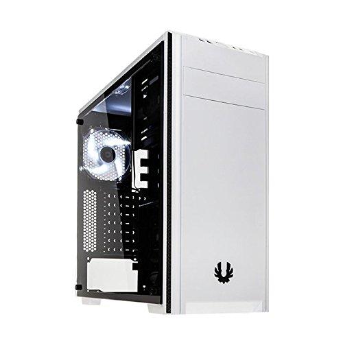 BitFenix Nova TG Weiß - Computer-Gehäuse (PC, Kunststoff, Stahl, Gehärtetes Glas, Weiß, ATX,Micro ATX,Mini-ITX, Gaming, 16 cm)